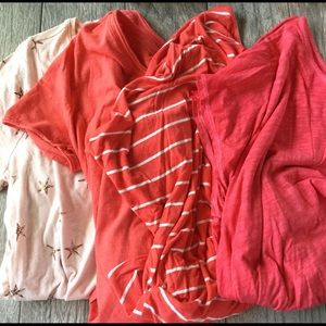 Lane Bryant 18/20 Pink Shirt Bundle